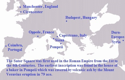 Sator Square in Roman Empire